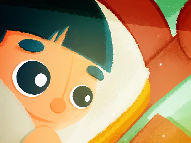 Kiddo14 design character kids color digital childrens book illustration character design illustration