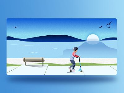 Spring Holiday !! designs spring holiday spring break illustration illustrator ui web design