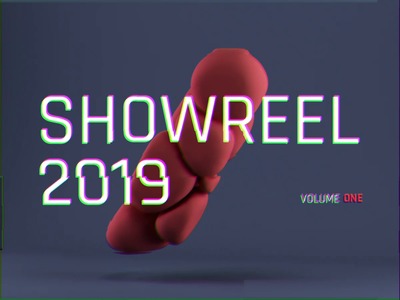 Showreel 2019 Vol. One sketch minimal ui art mobile ios clean type branding illustration identity logo flat web website design animation app ux typography