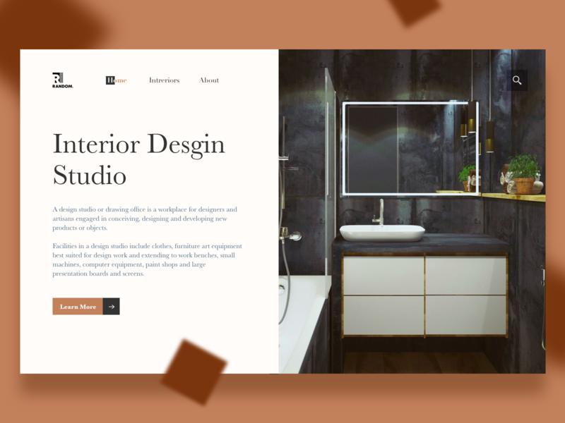 Interior Desgin Studio web interior design interior design ux ui