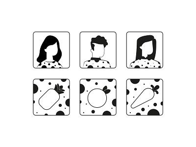 Avatar web app logo icon illustration photo profile icons avatar avatar icons