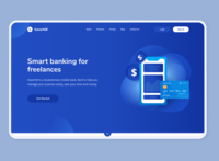 Bank - Landing Website