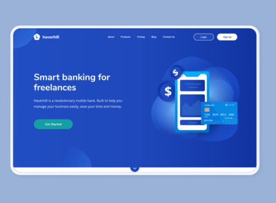 Bank - Landing Website V2