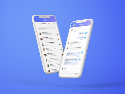 Social Media Marketing App UI Design