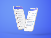 Social Media Marketing App UI Design