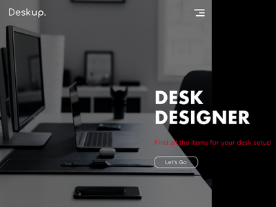 Deskup. ui web design design web concept website