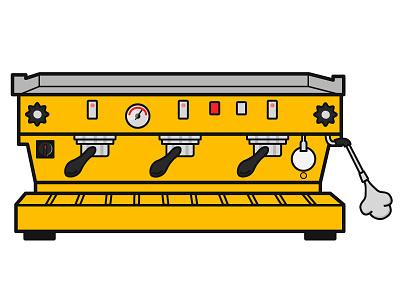 Espresso Machine illustration vector art vector design