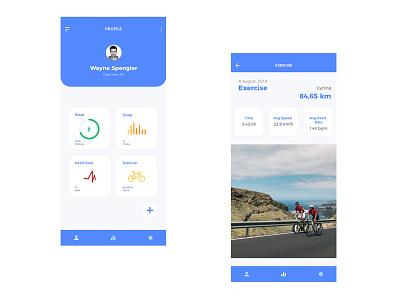 Fitness Tracker ui design ui design tracker app fitness