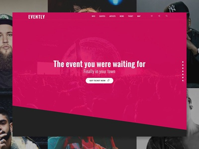 Evently - Event & Artist WordPress Theme