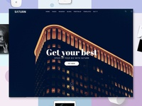 Saturn - Multiuse and Accurate WordPress Theme