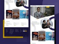 Royal Exchange Web UI Design