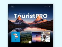 TouristPro Tour UI design