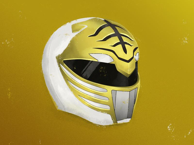 White Ranger Helmet
