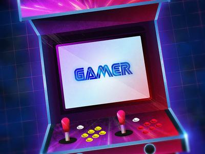 Gamer Cabinet