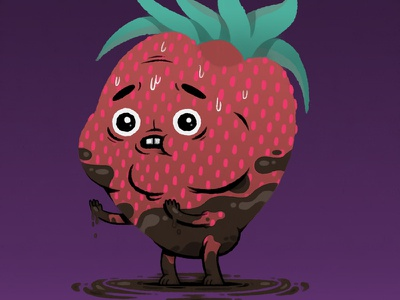 Strawberry_Boyfriend.JPEG photoshop illustration
