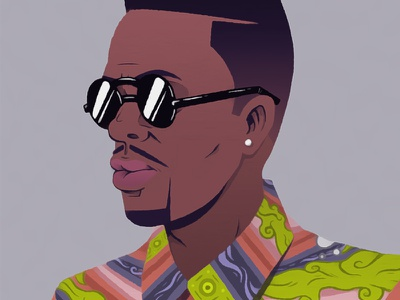 DJ_Jazzy_Jeff.JPEG photoshop illustration