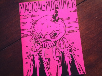 Magical_Mortimer_Zine.JPEG photoshop illustration