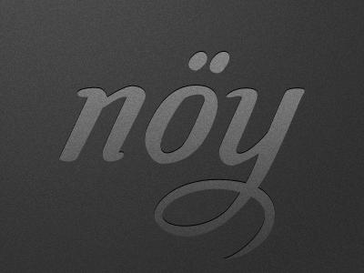 nöy typography typeface