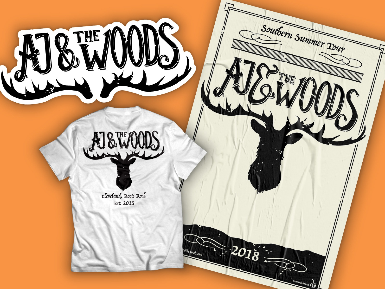 Aj   the woods shot 4x