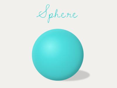 Sphere realistic design sphere material