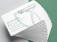 Wedding Wellness Business Cards