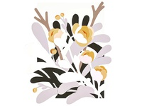 Negative Space Florals All
