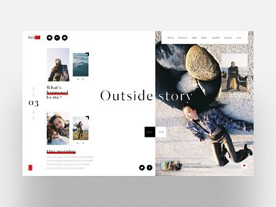 Fashion story minimal new photgraphy fashion story model minimalism black