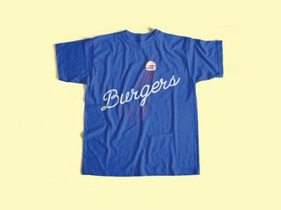 Samburger - Baseball Tee