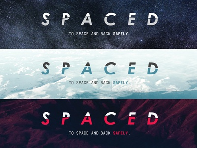SPACED Challenge - Logo
