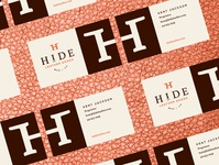 Hide - Business Cards