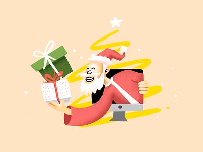 Christmas is here! seasons greetings holidays 2020 christmas2020 christmas app branding icons business illustration ux website netbramha design ui