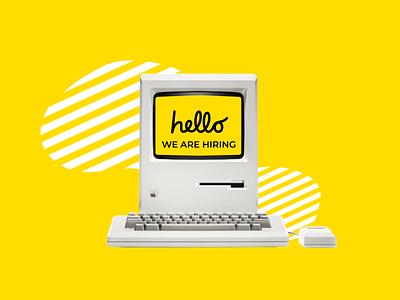We are hiring! business illustration ux website netbramha design ui remotework designjobs jobseeker remotejobs jobs hiring