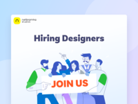 We are hiring design super heroes!
