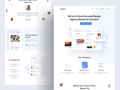 Webpage UI minimal branding and identity branding concept branding agency branding design brand identity brand design branding brand dribbble best shot ofspace agency ofspace landing page design landing page landingpage website design webdesign web design website web