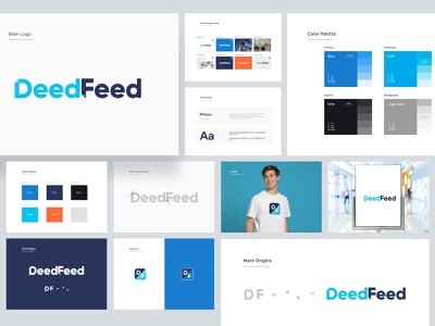 DeedFeed Brand Guideline style guide styleguide design system brand identity design brand and identity brand designer ofspace agency ofspace branding and identity branding identity branding concept branding agency brand identity brand design brand branding design branding logo design logo deedfeed