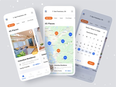 Long Stay App map ios application dribbble dribbble best shot branding concept branding agency brand identity brand design branding design branding ofspace agency ofspace ios app design ios app app designer app design icon ui web ios guide app design long time stay