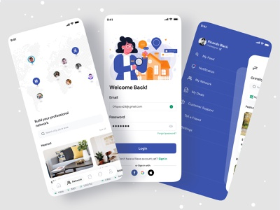 Real Estate App branding agency brand brand design brand identity branding design branding dribbble 2021 ofspace agency ofspace real estate app real estate branding realestateagent realestate logo realestatelife realestatelogo realestate real estate agent real estate agency real estate logo real estate