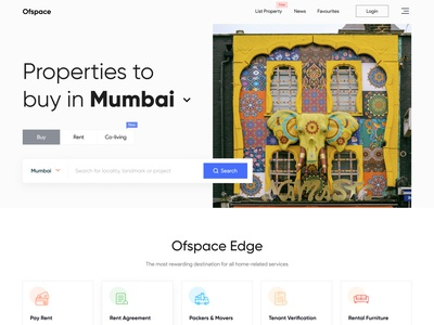 Properties to buy in Mumbai brand identity branding design ofspace agency ofspace band branding realestate design real estate ui design real estate design realestateagent real estate agent real estate branding realestate logo real estate agency real realestatelife realestatelogo realestate real estate logo real estate