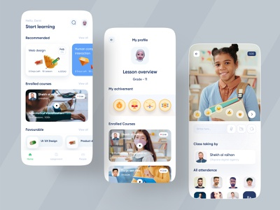 Educational App dribbble app design icon ui web ios guide dribbble 2021 app design ios app website education web ofspace academy ofspace agency ofspace ecommerce app app designer education landing page education icons education website education logo educational education education app