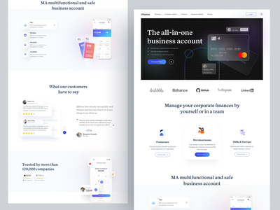 Fintech Home page I Ofspace design ux currency exchange currency fintech website ofspace money financial dashboard finance payment app payment landing page design landing page web design website web fintech branding fintech
