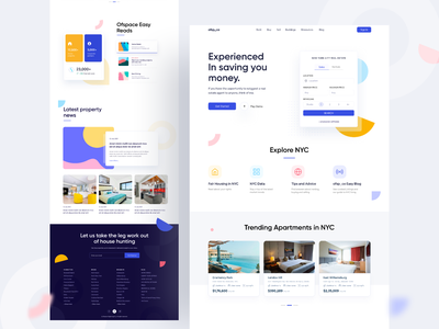 Experience in saving you money web app brand identity brand ofspace agency vector logo illustration branding ios app app design ux ofspace ui finance fintech fintech web webdesign web website