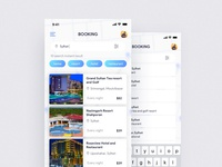 Hotel Booking Search & Filter