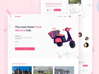 Food Delivery Service Homepage