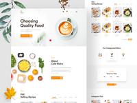 Cafe Bistro- Restaurant landing page