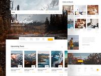 Travel Landing Page Exploration