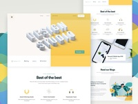 Design Studio - Homepage Design