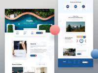 Kopila - Hotel Landing Page