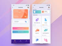 Private Bank App Design I 2