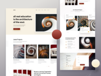 Architecture Firm - Landing page