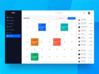 Calendar - Finance Dashboard UI Kit